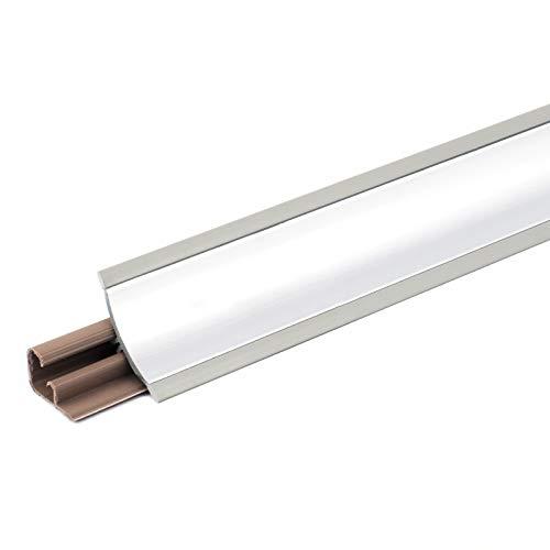 [DQ-PP] 3m Winkelleisten Aluminium für Küchen 23mm x 23mm Arbeitsplatten Grundprofil Abschlussleiste Küchenabschlussleiste Tischplattenleisten
