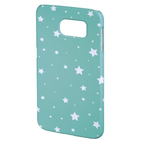 Hama Luminous Stars Schutzhülle für Samsung Galaxy S6, Mint/weiß