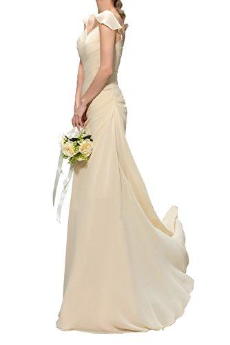 Victory Bridal - Robe - Crayon - Femme Lilas