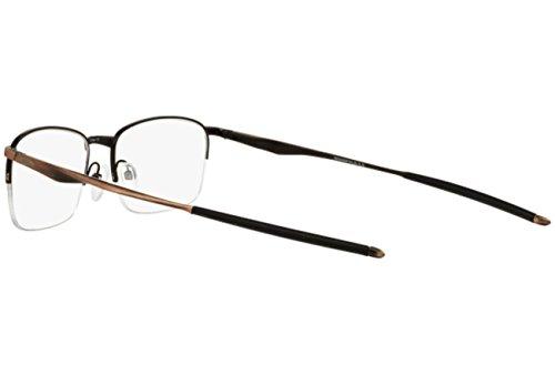 Oakley RX Eyewear Montures de lunettes OX5101 Wingfold 0.5 Pour Homme Satin Black, 53mm 510104: Ti Toast