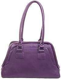 Stylogy Women's Tote Bag (Purple) (bag-shld07-00003-c)