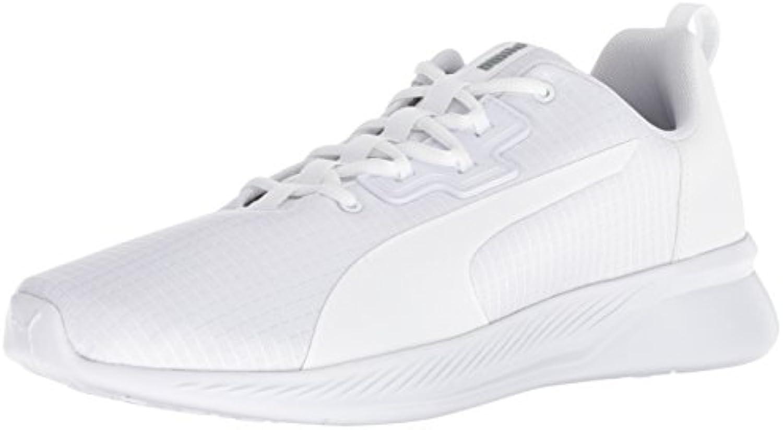 PUMA Men's Tishatsu Tishatsu Tishatsu Runner Sneaker, White-Quarry, 9 M US 682605