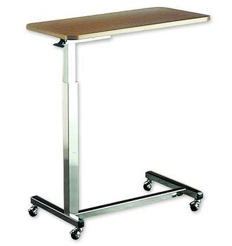 2 Tables: Hospital Over Bed Adjustable Overbed Reading Table by Invacare