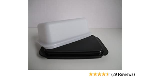 Kühlschrank Butterdose : Tupperware butterdose butter schatz weiß schwarz c butterschatz