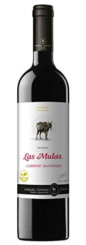 Las Mulas Cabernet Sauvignon - Vino Tinto, Pack De 6 X 750 Ml