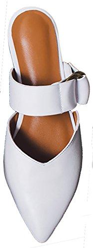 Muli Caoutgoing 1 Zoccoli Scorrevole Su Bianche Scarpe Donna Centimetro E Blocco Calaier fRwH5q0n1x