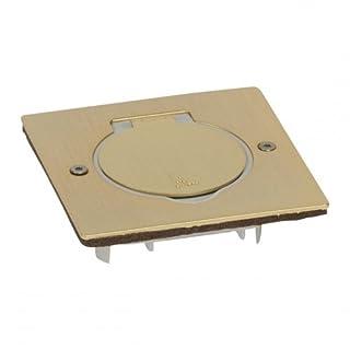 Arnould 48295 Bodensteckdose, quadratisch, bronzefarben