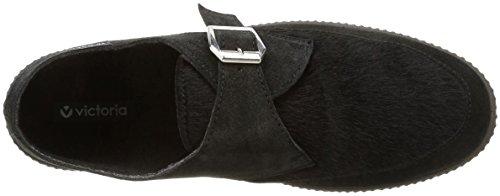 Victoria - 116731, Scarpe stringate Unisex - Adulto Nero (Noir (Negro))
