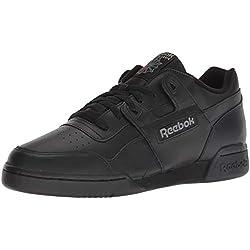 Reebok W/O Plus, Baskets mode homme, 2760_45.5 EU_Black/Charcoal, 42.5 EU