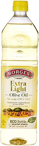 BORGES Extra Light Olive Oil, 1 Litre