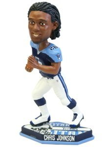 Tennessee Titans Chris Johnson Forever Collectibles Thematic Base Bobble Head by Forever Collectibles