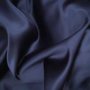152,4cm di larghezza Duchess satin Abito tessuto-venduto al metro, colore: Blu navy