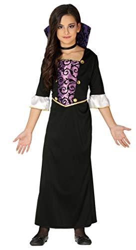 Fiestas Guirca Gräfin Daculessa Vampir Kostüm für Horror Verkleidung