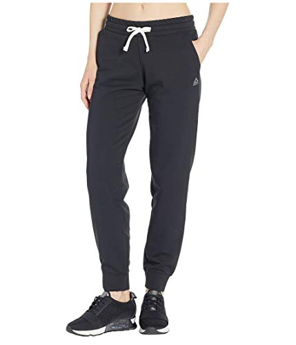 Reebok French Terry Jogger, Damen, French Terry Jogger, schwarz, Large - French Terry Short Set