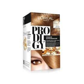 Prodigy collection l'or nude l'oreal coloration n7.3 inca (blond dor)