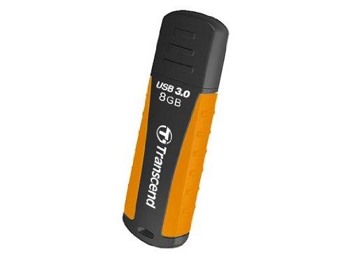 Transcend TS8GJF810 JetFlash USB 3.0 8GB Speicherstick schwarz/orange