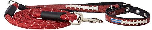 Brown Pebble-grain-leder (Geschenk Pack Arkansas Razorbacks Pebble Grain Spielzeug Fußball Halsband & Medium Fußball Leine, Unisex - Erwachsene, Gift Pack, braun, Einheitsgröße)