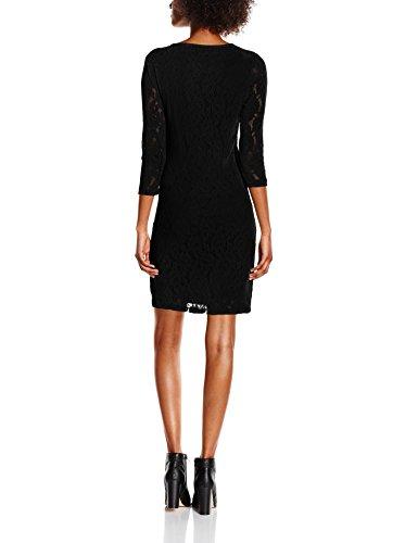 VERO MODA Damen Kleid Schwarz (Black)