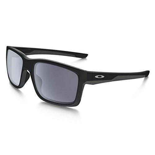 Oakley Sonnenbrille Mainlink, OO9264-01, Schwarz (Matte Black)