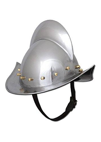 Battle-Merchant Deutscher Morion Helm, Landsknechtshelm - Spätmittelalter - LARP - Landsknecht