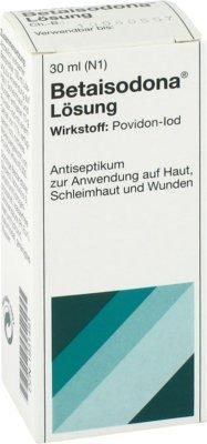 Betaisodona Lösung Sparset: 2x30ml Antiseptikum zur Anwendung auf Haut, Schleimhaut und Wunden + 2x gratis Vita Elan Desinfektionstuch beseitigt 99,9% der Bakterien, spezielle Viren und Pilze