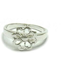 Sterling silber ring Blume 925 Empress jewellery Größe 46 - 69