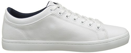 Lacoste Straightset Bl 2 Cam, Basses Homme Blanc (Wht)