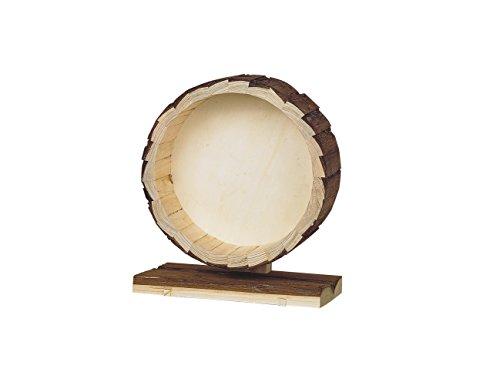 Nobby Woodland Running Wheel with Wood Bark, 14 cm 1
