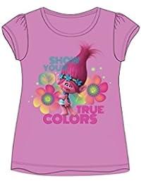 TROLLS - Camiseta de Manga Corta - para niña