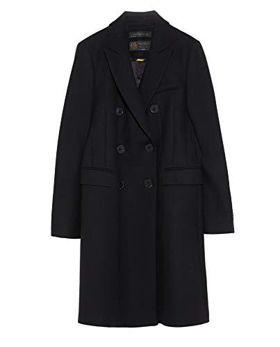 Zara Damen Zweireihiger Mantel 7785/744 (Small)
