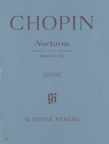 Nocturne Op.48/1 do min. - Piano