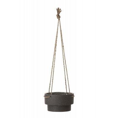 Pot Suspendu Plant Hanger Low Diam 21,5 H 13 cm Ferm Living