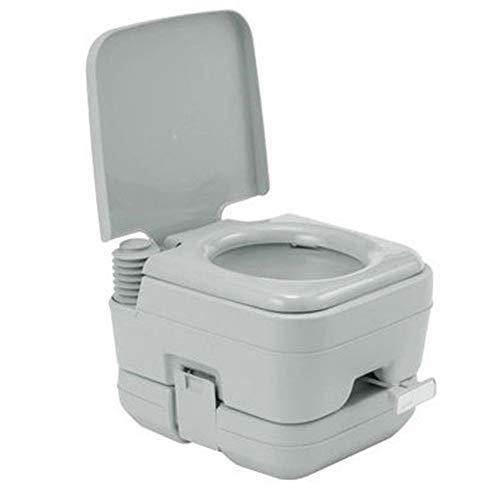 GreatWall 10L Tragbare Chemische Toilette Reise WC Campingtoilette Mobile Chemietoilette Campingklo WC Toilettensitz