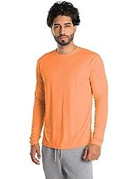 Vapor Apparel - Camiseta de Manga Larga con protección Solar contra Rayos UV - para Hombre - Factor 50+