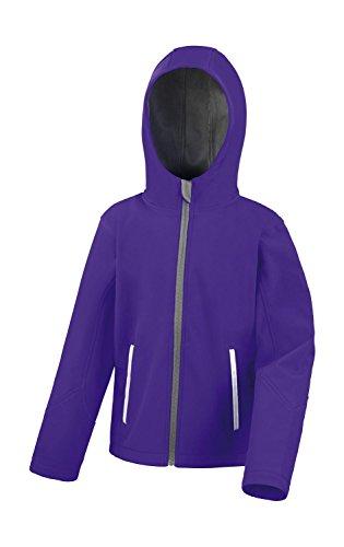 Ergebnis Kinder r224j mit Core TX Performance Hooded Softshell Jacket, Kinder, R224J, Purp Preisvergleich