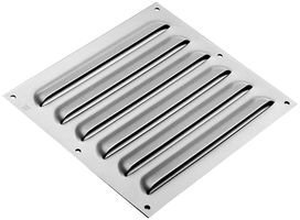 HOFFMAN ENCLOSURES AVK66 LOUVER PLATE KIT, 7.88INX7.5IN by Hoffman (Louver Kit)