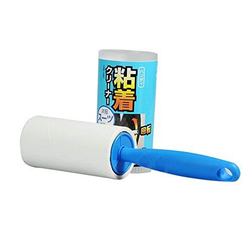 Lucky-all star Kleidung-Haar-Reinigungs-Rollenbürste - zerreißbare Papierkern-klebrige Bürste, benutzt, um Haustierhaar, Kleidung, Blätter, Staub auf der Oberfläche der Bettwäsche zu säubern - Bettwäsche Staub