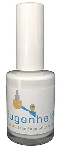 Anti-Schimmel Fugenfarbe/extra gut abdeckende Farbe, schimmelresistent / 1x15ml (Weiß)