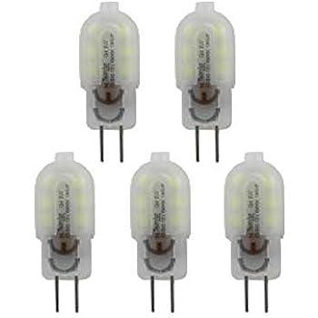 Bombilla LED G4 3W 12V CD PACK 5 (Amarillo) 43724