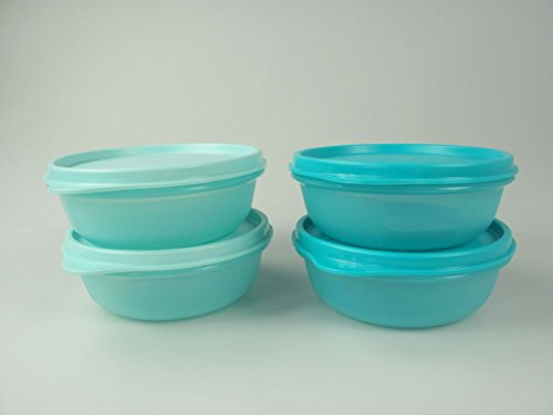 TUPPERWARE raviers 300 ml (4) B11 turquoise