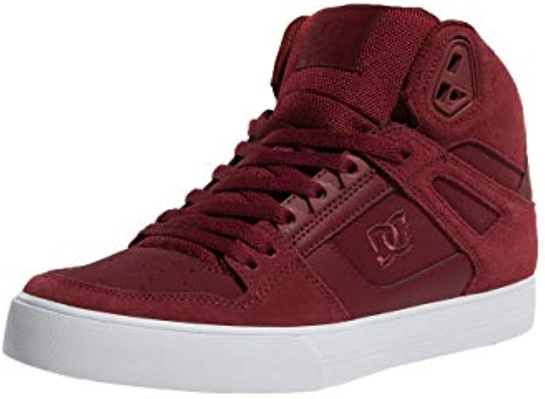 DC - scarpe da ginnastica Pure High-Top WC - Burgundy, Taglia 47 EU   Outlet Store Online    Maschio/Ragazze Scarpa
