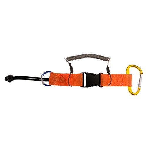 Sharplace Wasserdichte Kamera Handschlaufe Armbänder für Unterwasserkamera Action Cam Handy Camcorder für Tauchen, Klettern im Freien, Unterwasserfotografie - Orange