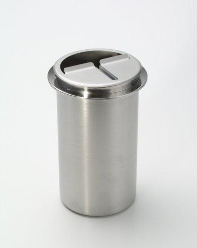 Abstreifbehälter für Tortenmesser Einbaumodell