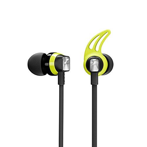 Sennheiser CX Sport Bluetooth In-Ear Wireless Sports Headphon, black/yellow - 4