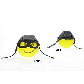 Antenna Tops - Car Antenna Topper / Antenna Ball / Mirror Dangler(Yellow Pilot)