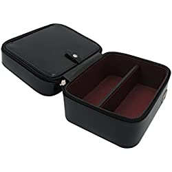 Genuine Leather Box for Watches & Sunglasses. Travel Case. -Premium Quality- Finely Handmade by Cordays CDM-00002