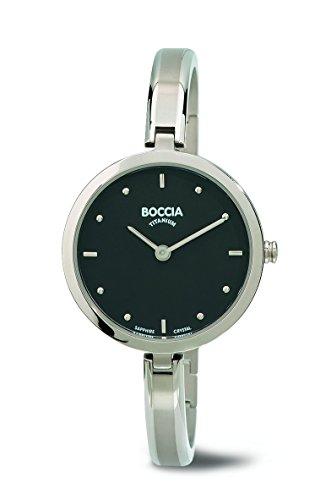 Boccia - 3248-01 - Montre Femme - Quartz - Analogique - Bracelet Titane Argent