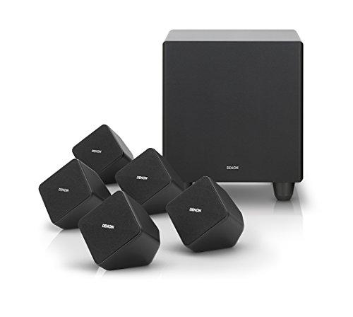 Denon SYS2020BKE2 5.1 Lautspechersystem 100 W RMS (160 W Peak) schwarz