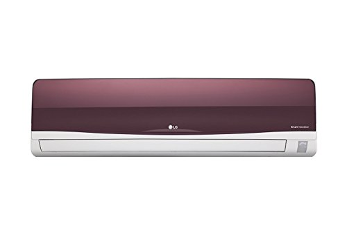 LG JS-Q12WTXD Inverter Split AC (1 Ton, 3 Star Rating, Wine, Aluminum)