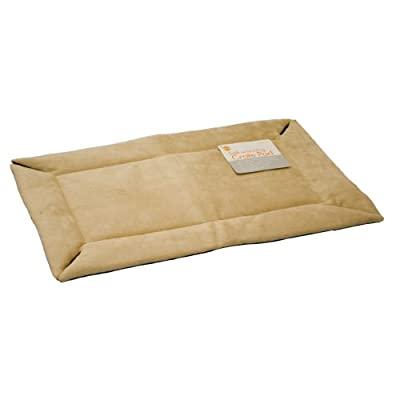 K&H Manufacturing Self-Warming Crate Pad Tan 25-Inch by 37-Inch from K&H Manufacturing